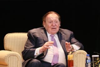 Casino entrepreneur Sheldon Adelson dies aged 87