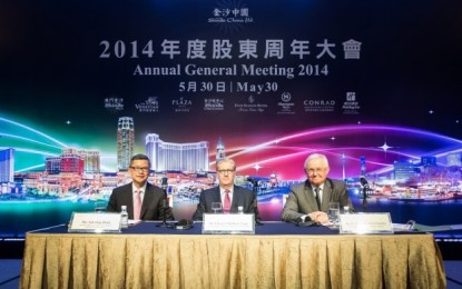 Rob Goldstein joins Sands China board