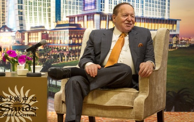 Adelson drops on Forbes list of America's richest