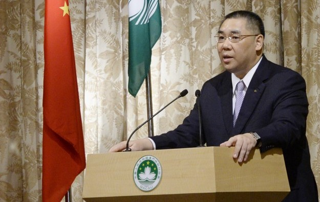 Macau's Chief Executive launches re-election campaign
