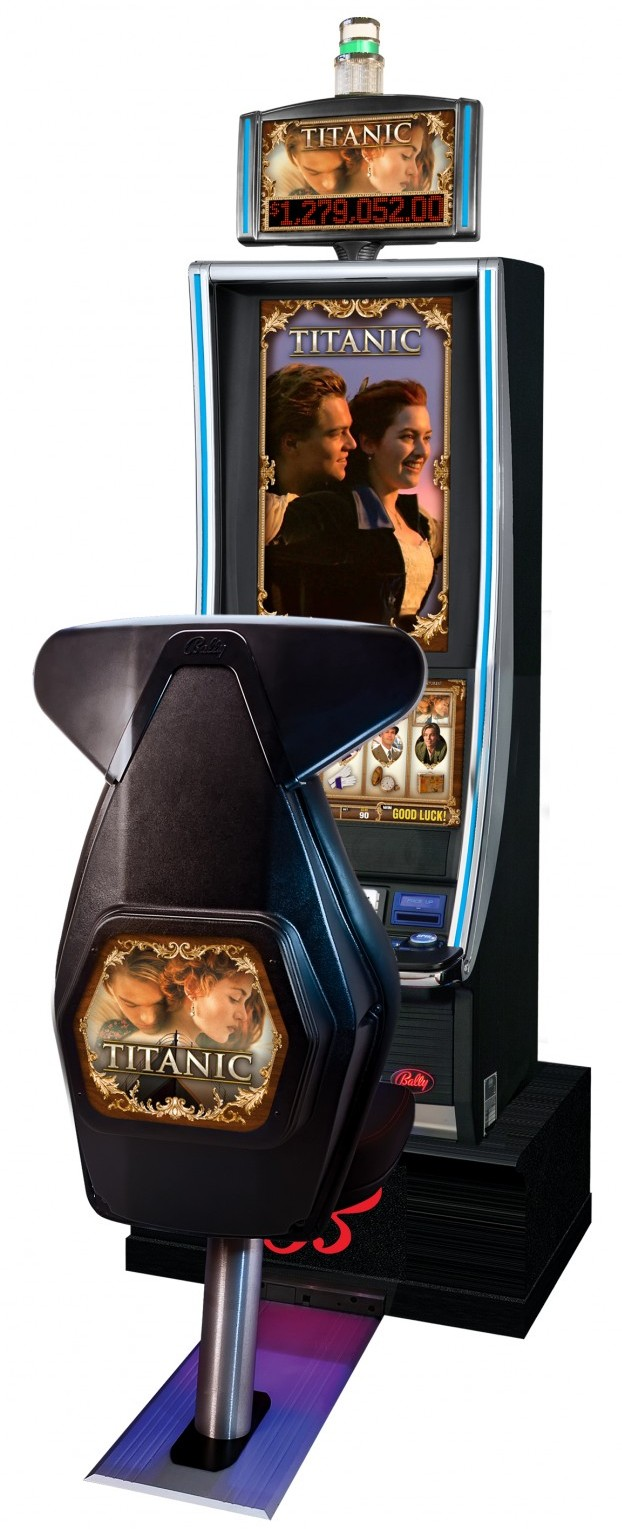 Titanic progressive video slot – Bally Technologies Inc