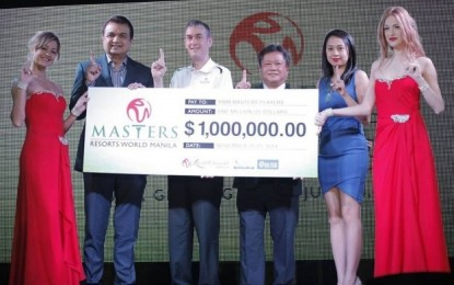 Asian casinos place chips on golf