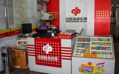Slump in mainland China lottery sales continues in Nov