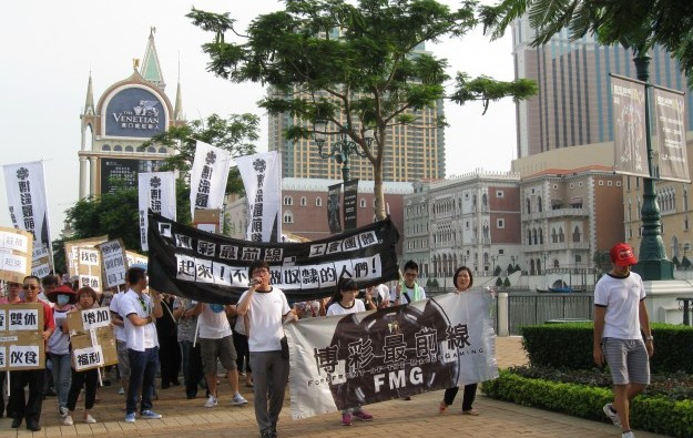 Macau labour group demands meeting with Sands China