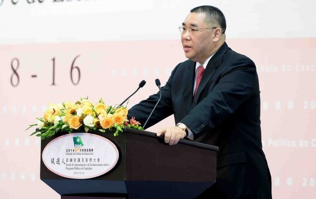 Chui Sai On re-elected for Macau's top political position