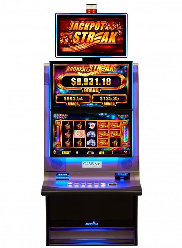 Aristocrat introduces Jackpot Streak product line