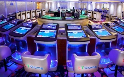 Paradise Ent casino services EBITDA near doubles in 1H
