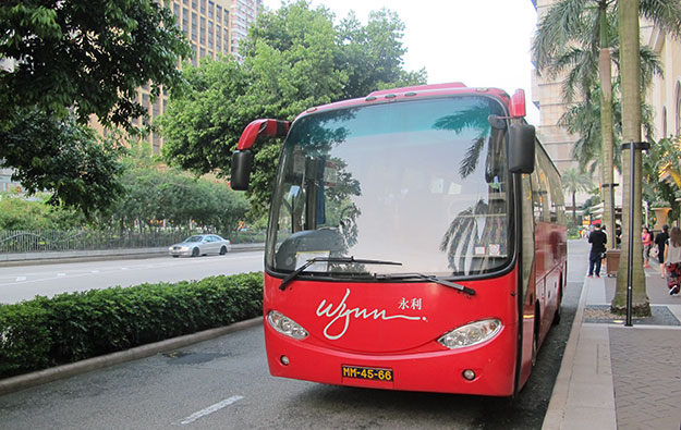 Macau casinos agree to cut shuttle bus routes by fifth
