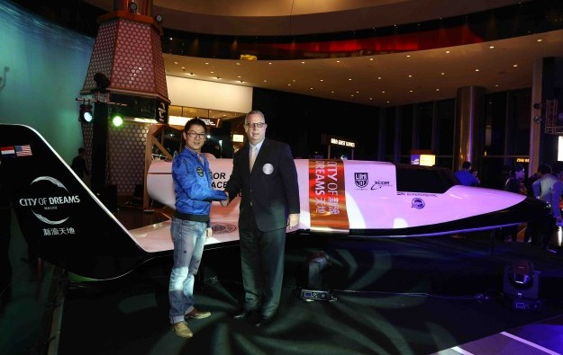 Melco Crown to send customers to space