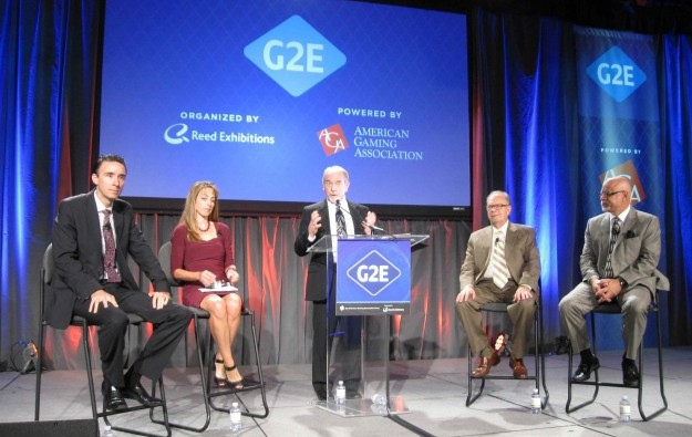 Less bang for your buck with modern slots: G2E panel
