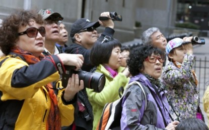 Singapore decline in Chinese visitors to slow: reports