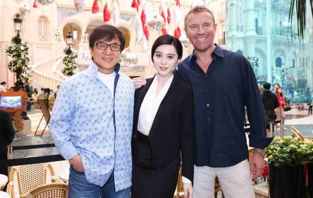 MGM Macau links to new Jackie Chan film