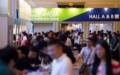 G2E Asia 2015 starts today