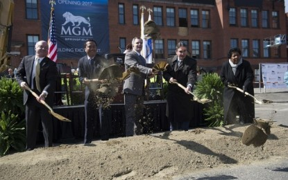 MGM Resorts breaks ground in Massachusetts