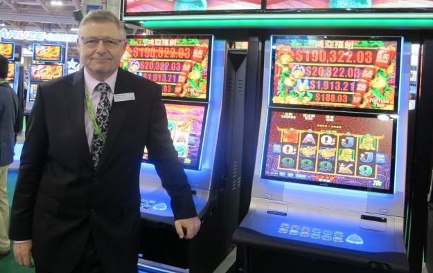 Macau slump gives slots added responsibility: Aristocrat