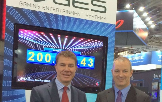 GES, Paltronics install poker jackpots at Crown Melbourne