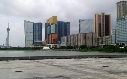 Casino mass GGR up 3.9 pct in 3Q: Macau govt