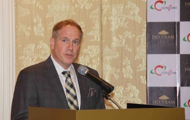 Ho Tram's Michael Kelly to head AmCham in Vietnam