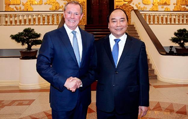 Weidner, Steelman linked to new Vietnam project: report