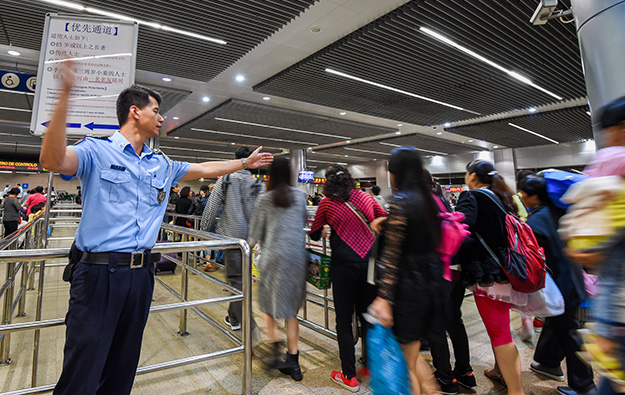 Labour Day arrivals fall, one Macau op says trade good