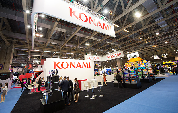 Konami slot division profit up 16 pct in 2Q