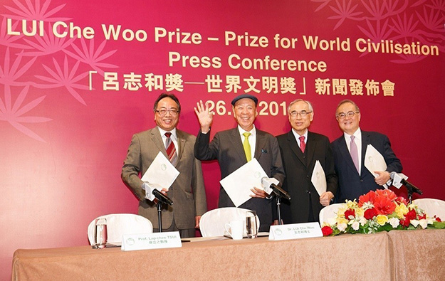 Jimmy Carter among honourees in first Lui Che Woo Prize