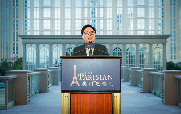 Parisian Macao opening with 410 gaming tables: Wong
