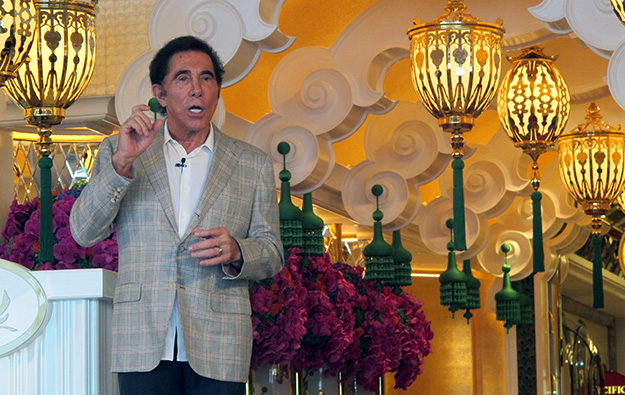 Steve Wynn gives up control over ex-wife's shares
