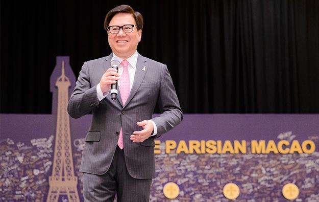 Parisian won't steal Sands China existing biz: Wong