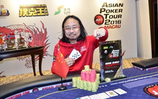 China's Guo Dong wins Macau APT leg main event