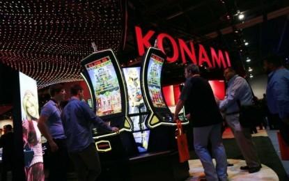 Konami slot division rev, profit down year-ended March