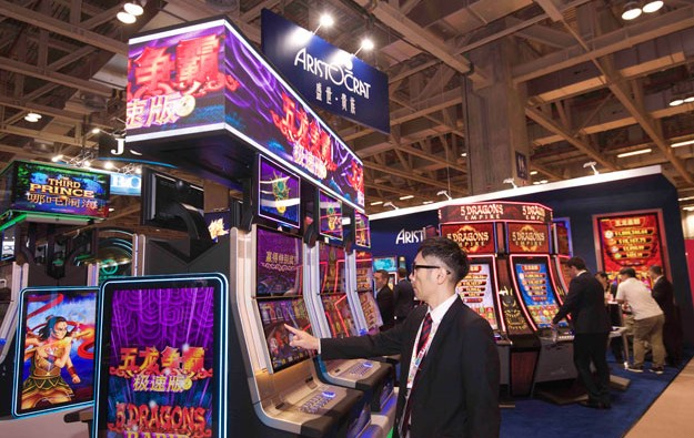 Slot maker Aristocrat net profit up 88pct fiscal 2016
