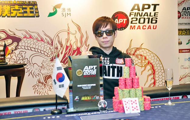 S. Korea'sSoojo Kimwins Asia Poker Tour finale