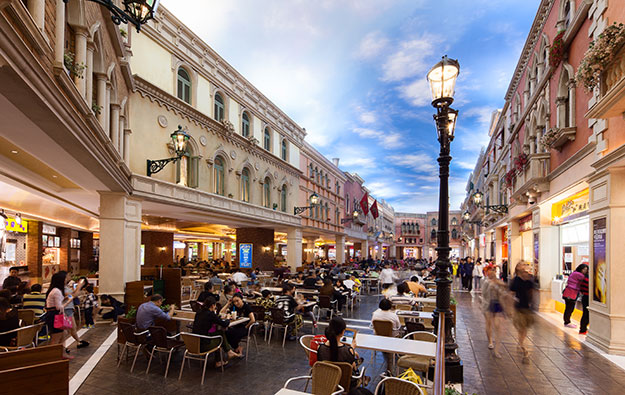LVS US$170mln 1H mall rent relief for Macau, Singapore