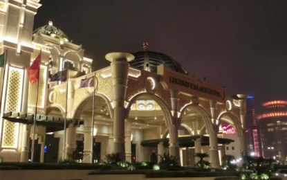 Casino hotel Legend Palace opens in Macau today