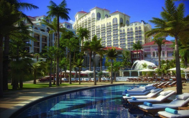 Chinese-backed Caribbean casino resort preview starts