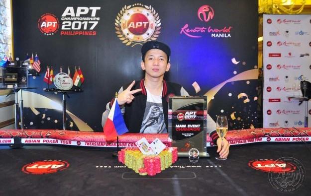 Mike Takayama wins APT Championships Philippines