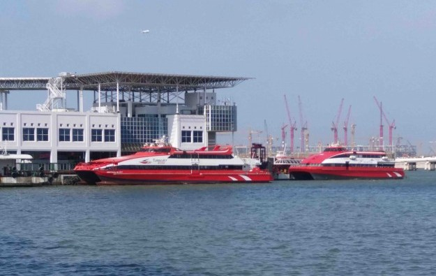 Macau-Hong Kong ferry services suspended from Tuesday