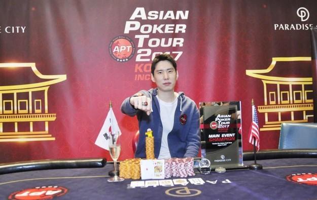 Albert Paik wins first APT Korea Incheon contest