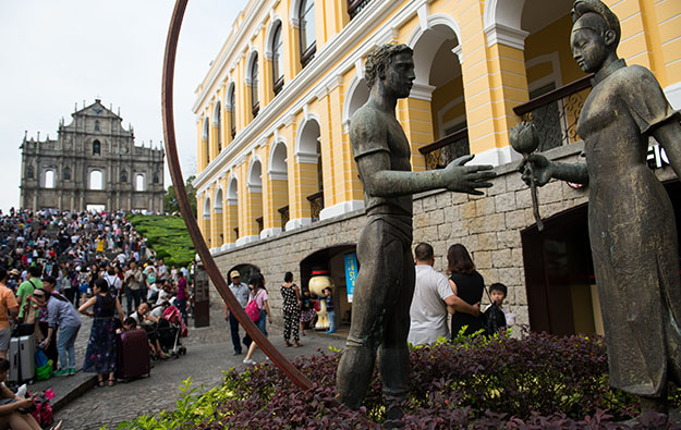 Visitor arrivals to Macau up by nearly 19 pct in Aug