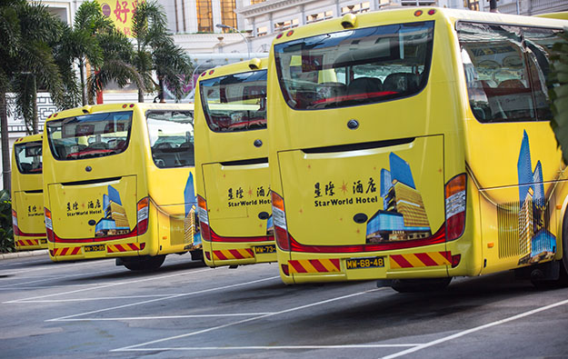 Macau casino shuttle fleet could go green by 2023: govt
