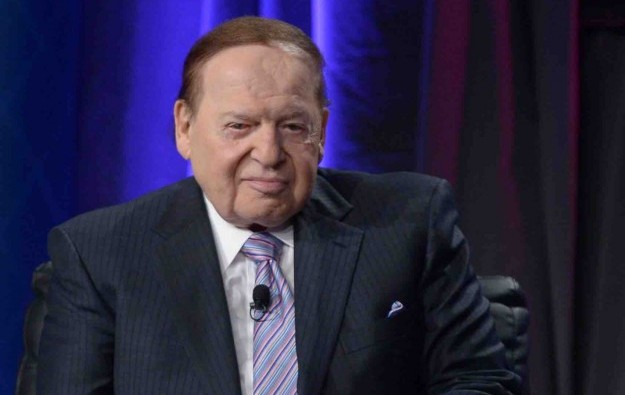 LVS boss Adelson takes medical leave due to cancer