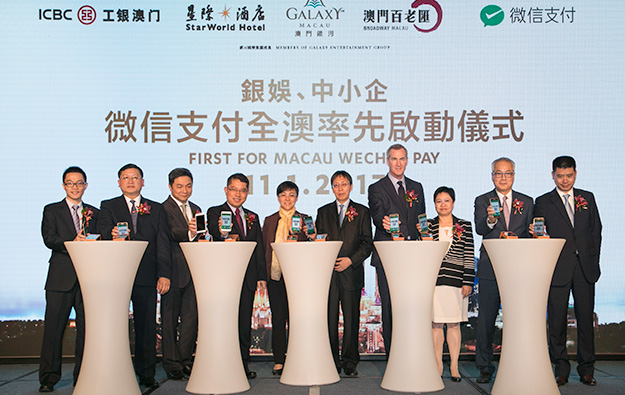 Galaxy Ent properties to allow WeChat Pay payments