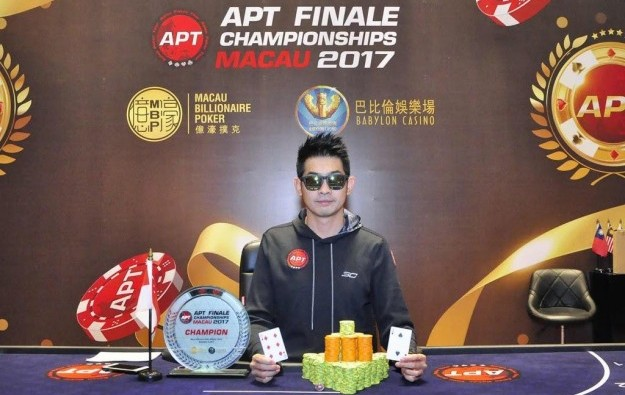 Alecz Chan wins APT Championships Event trophy