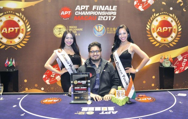 India's Varun Gupta wins APT Finale Macau main event