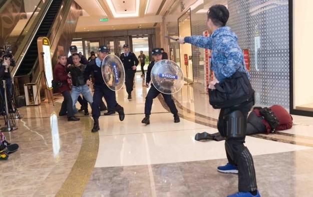 Macau authorities declare casino attack drill a success