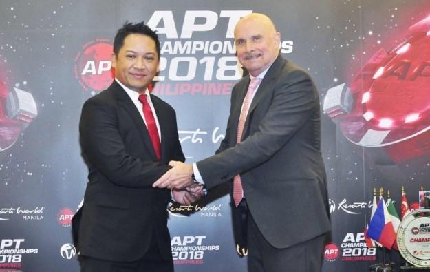 Asian Poker Tour promotes Fontillas to GM