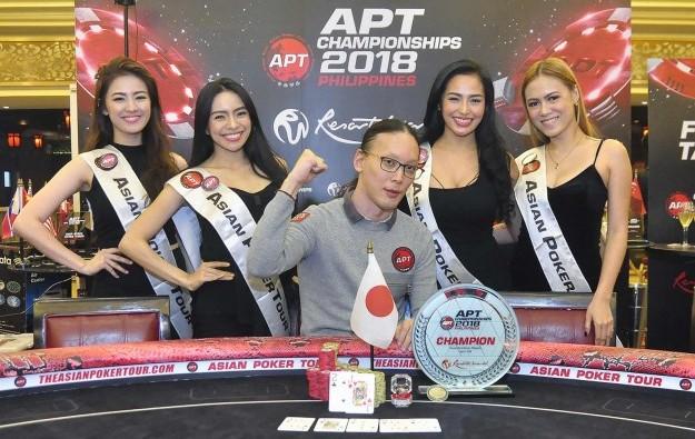 Japan's Yogo wins APT Championship Event in Manila