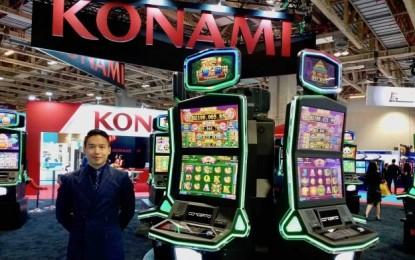 Konami's latest Concerto cabinet on show in Asia