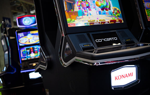 Konami annual profit up as slot division biz grows